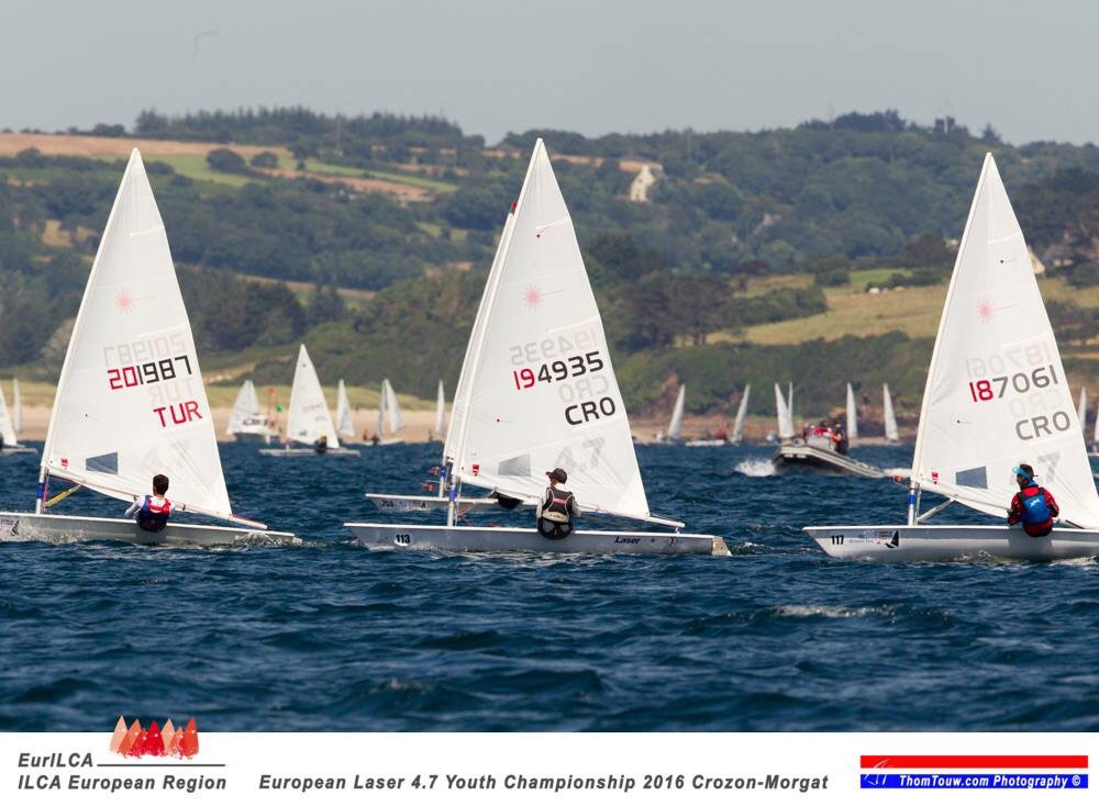 EUROPEAN LASER 4,7 YOUTH CHAMPIONSHIP 2016 CROZON-MORGAT