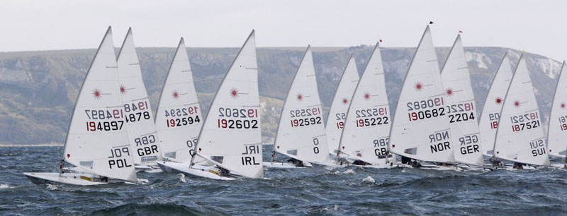 Weymouth medal race - ISAF WORLD CUP final